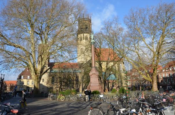 Räder prägen überall das Stadtbild von Münster © entdecker-greise.de