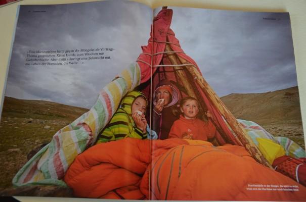 Eine Nomadenfamilie aus Leverkusen. Quelle: 4-seasons Magazin, IV 2013, S. 8-23 entdecker-greise.de