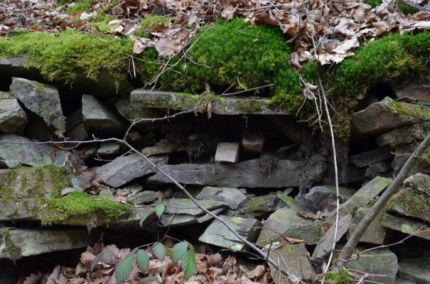 Steinbefestigungen auf dem Rotweinwanderweg © entdecker-greise.de