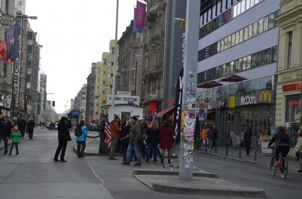 Checkpoint Charlie, ehemaliger Grenzübergang für Diplomaten ©entdecker-greise.de