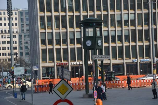 Erste Ampelanlage am Potsdamer Platz ©entdecker-greise.de