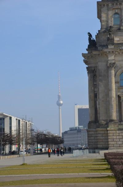 Von überall zu sehen, der Fernsehturm ©entdecker-greise.de