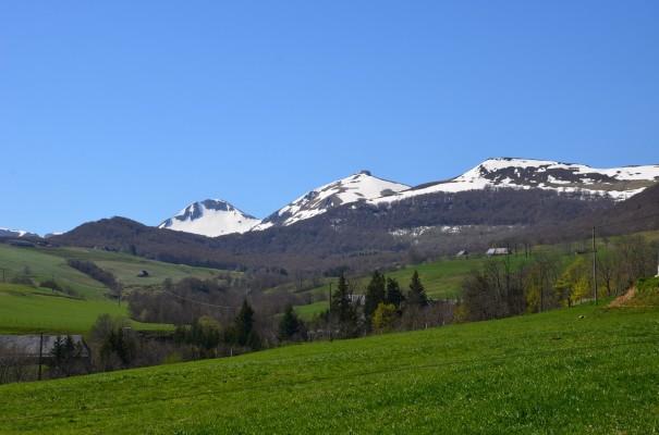 Das Zentralmassiv - schneebedeckt, Mitte April ©entdecker-greise.de