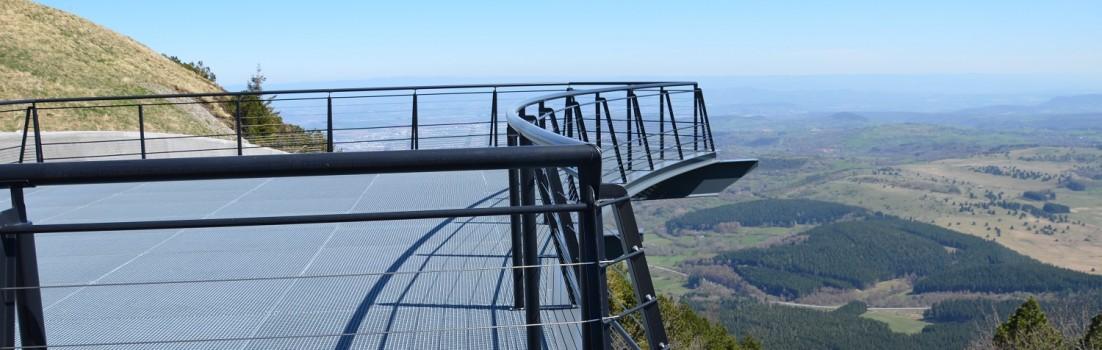 Aussichtsplattform auf dem Puy de Dome ©entdecker-greise.de