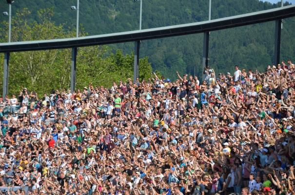 Begeisterung auf allen Rängen - Seebühne Bregenz ©entdecker-greise.de