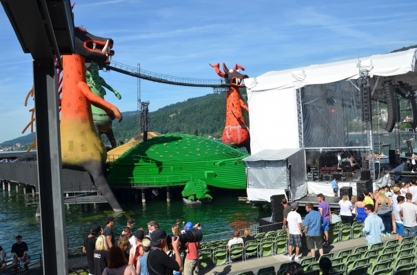Kultur für Jung und Alt auf der Seebühne in Bregenz ©entdecker-greise.de
