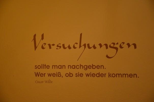 Oscar Wilde - ein Kenner vieler Versuchungen ©entdecker-greise.de