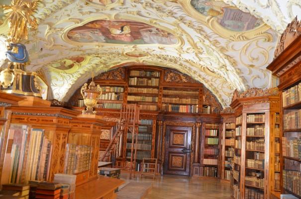 Bibliothek Kloster Lilienfeld ©entdecker-greise.de