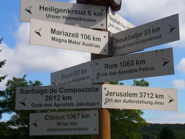 Pilgerwege ... führen letztlich alle zum gleichen Ziel ... zu uns selbst ©entdecker-greise.de