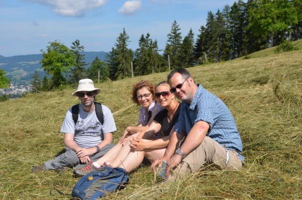 v.l. Oli, ich, Elena, Hubert und Tanja fotografiert ©entdecker-greise.de