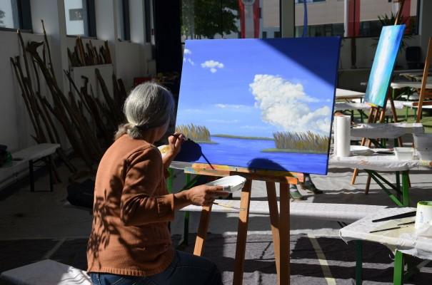 Ein Kunstwerk entwickelt sich ... und mit ihm sein Künstler