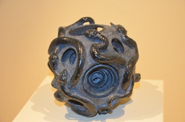 Die Sphärenkugel aus Edelserpentin gefertigt ©entdecker-greise.de