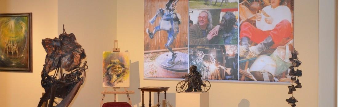 Hier wird die Vielseitigkeit des Künstelrs Otto Posch deutlich ©entdecker-greise.de