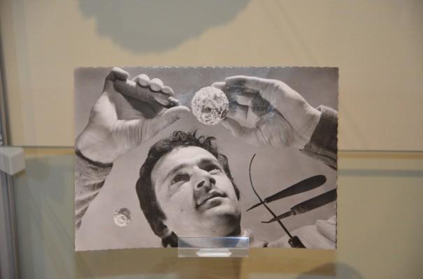 Otto Potsch, dessen Energie und Enthusiasmus  selbst in diesem Bild spürbar ist ©entdecker-greise.de