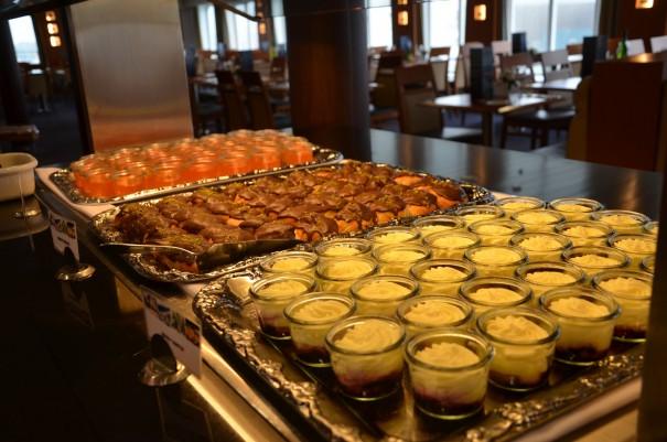 Die Küche auf der DFDS Seaway ist einsame Spitznklasse ©entdecker-greise.de