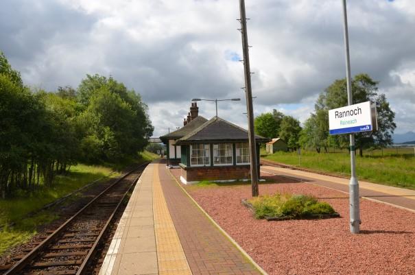 Die Rannoch Station, wo bereits Harry Potter zu Gast war ©entdecker-greise.de