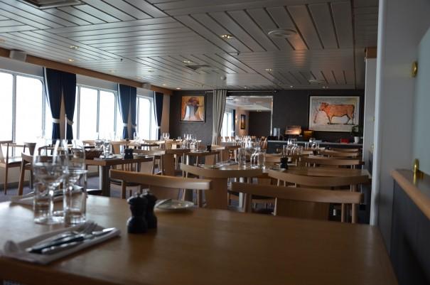 Ein stimmiges Abiente für einen gelungenen Start meiner Schottland-Reise, auf der DFDS Seaways ©entdecker-greise.de
