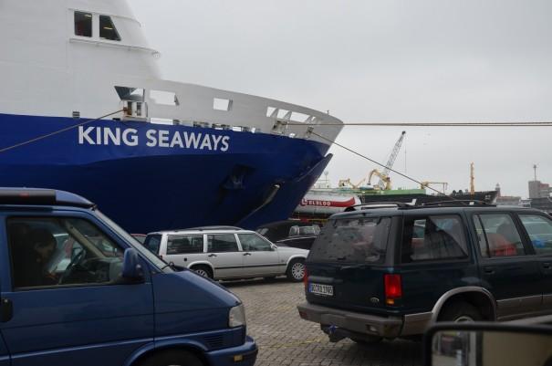 Ganz schön aufregend - mein großes Schottland-Abenteuer startet mir der DFDS Seaways ©entdecker-greise.de