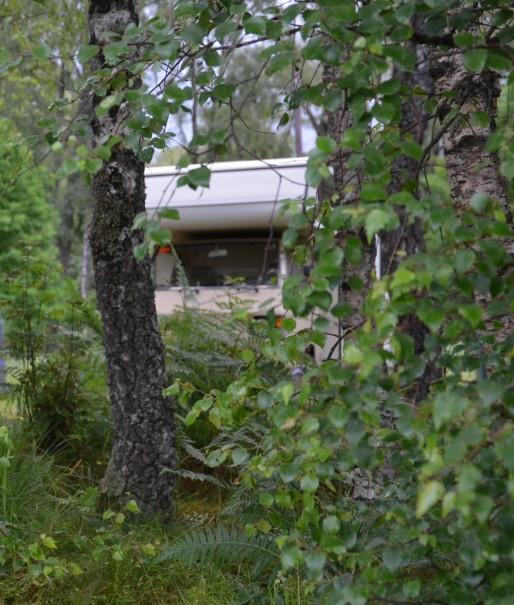 Und so idyllisch habe ich dann immer übernachtet ... Suchbild - wo ist der Campervan ©entdecker-greise.de