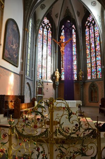 Altar der Laurentius Kirch in Ahrweiler. ©entdecker-greise.de