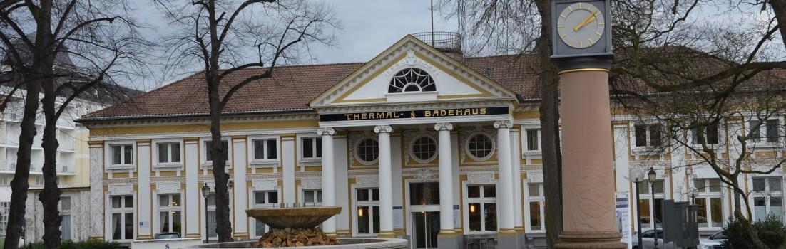 Das historische Badehaus in Bad Neuenahr. ©entdecker-greise.de
