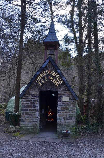 Die Lourdes Kapelle auf dem Ahrsteig ©entdecker-greise.de
