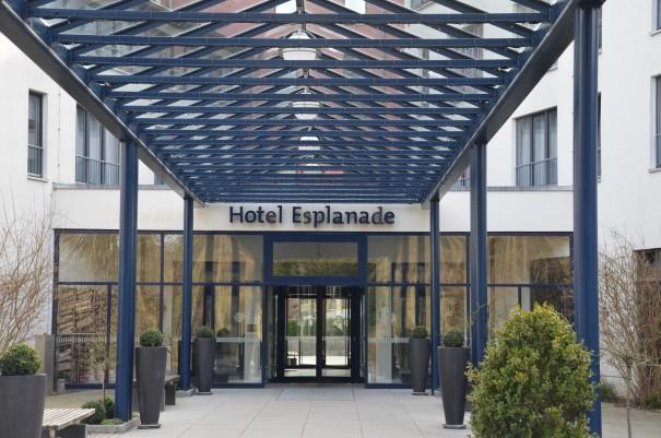 Der Haupteingang zum Hotel Esplanade Resort & Spa ©entdecker-greise.de