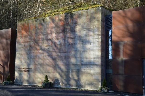 Die Dokumentationsstätte Regierungsbunker vor Bad Neuenahr Ahrweiler ©entdecker-greise.de