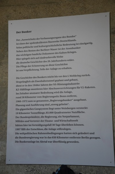 Ein monument menschlicher Dummheit und ein Monument des Schreckens, doch lernt die Menschheit tatsächlich etwas dazu ... ©entdecker-greise.de