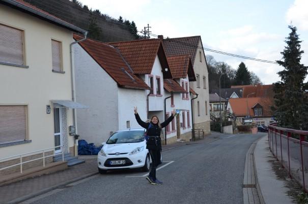 Geschafft! Sarah in Siegespose! Was für ein toller aber auch anstrengender Tag! ©entdecker-greise.de