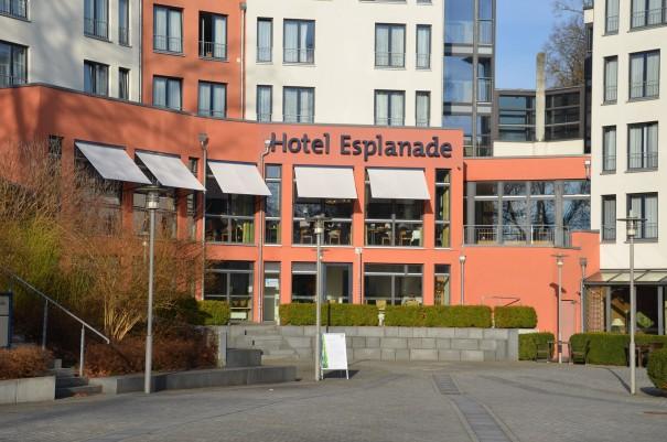 Großzügig gebaut, das Hotel Esplanade Resort & Spa am Märkischen Meer ©entdecker-greise.de