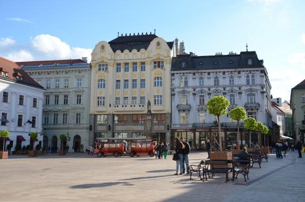 Der Marktplatz von Bratislava. ©entdecker-greise.de