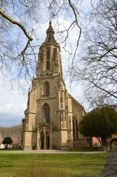 Die imposante Schlosskirche von Meisenheim ©entdecker-greise.de