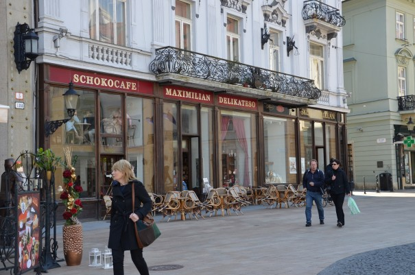 Gemütliche Kaffeehauskultur in Bratislava. ©entdecker-greise.de