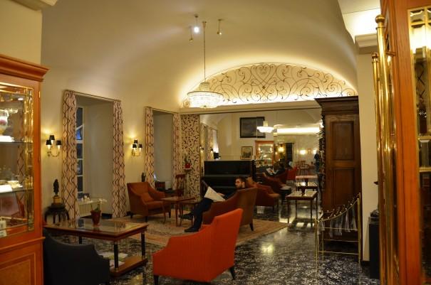 Gemütlichkeit und edles Ambiente in Wiens ältestem Hotel - dem Hotel Stefanie, einer der fünf Schick Hotels. ©entdecker-greise.de