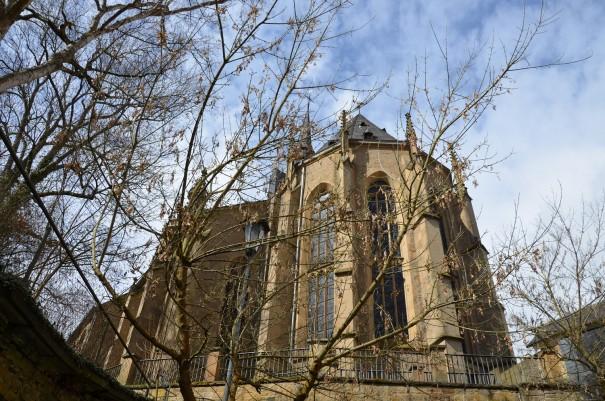Rückansicht der Schlosskirch Meisenheim ©entdecker-greise.de