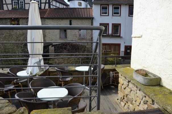 Sonnenterasse Hotel am Wasserrad in Meisenheim ©entdecker-greise.de
