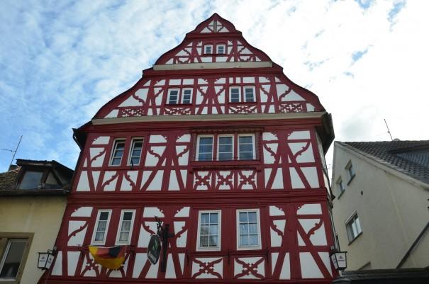 Wunderschön restaurierte alte Häuser in Meisenheim an der Glan ©entdecker-greise.de