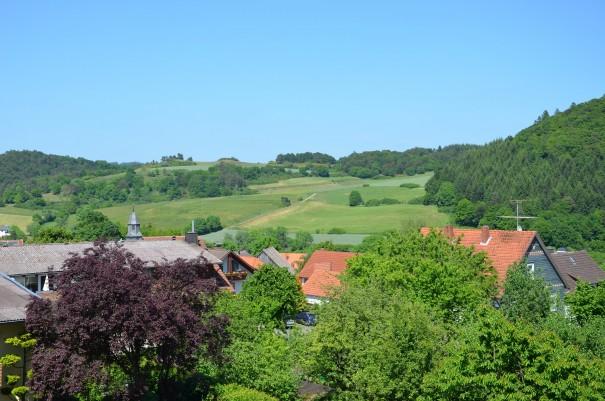 Was für eine herrliche Aussicht, gleich von meinem kleinen Balkon! ©entdecker-greise.de