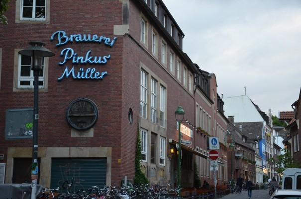 Das Brauhaus Pinkus - auch hierzu weiß Annette Stadtbäumer eine schöne Geschichte zu erzählen ©entdecker-greise.de