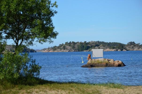 Wer früh aufsteht, der kann sogar Trolle beim Angeln beobachten ... aber nur hier an der Südküste Norwegens! ©entdecker-greise.de