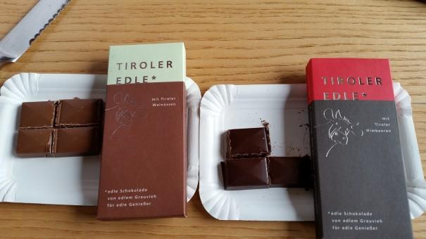 Eine Verköstigung in der Schokoladenmanufaktur ... ein himmlischer Genuss! ©entdecker-greise.de