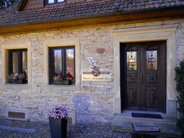 Der Romantik-Spa-Bereich des Victor`s Residenz-Hotels Weingärner, direkt am Bostalsee gelegen ©entdecker-greise.de