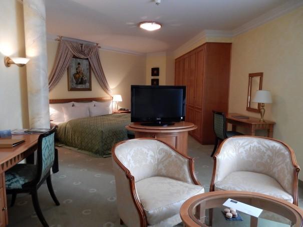 Meine Suite Aurella, mit kleiner Terasse für den In- und Outdoorgenuss ;-) ©entdecker-greise.de