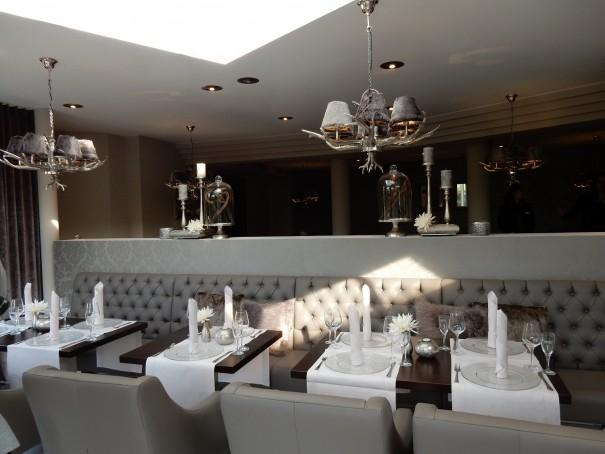 Wunderschön eingerichtet - das kleine aber feine Restaurant des Victor`s Rezidenz-Hotel Best Western Rodenhof ©entdecker-greise.de