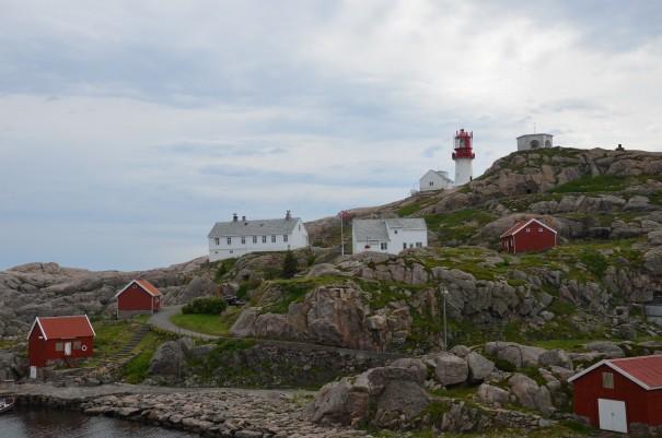 Das Lindesness Fyr am Südkap Norwegens ©entdecker-greise.de