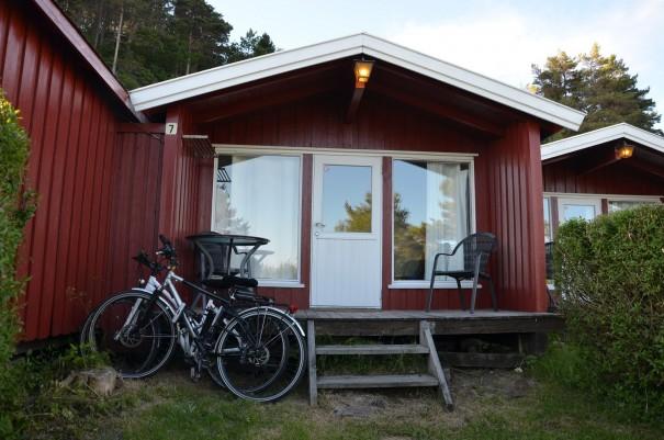 Unsere süße kleine Blockhütte, mit Blick auf die Schären ... ©entdecker-greise.de