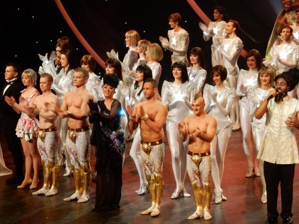 Arkobatik, Tanz, Gesang ... die Show The WYLD lässt nichts vermissen. ©entdecker-greise.de