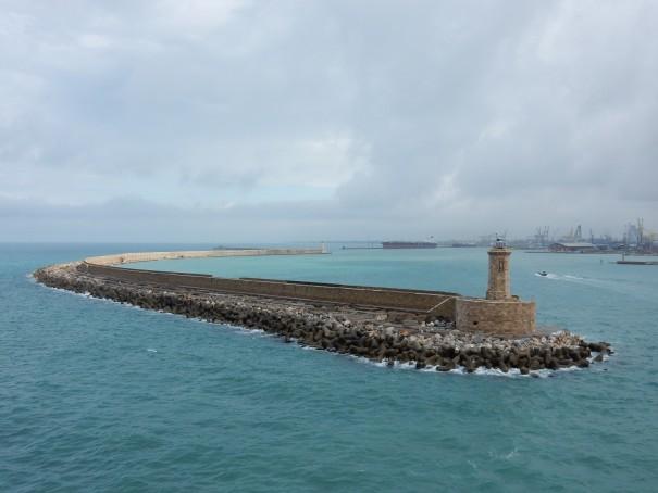 Wir verlassen den Hafen von Livorno ... ©entdecker-greise.de