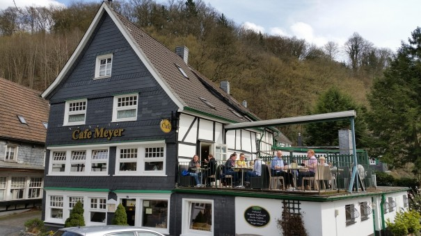Mein Lieblingscafé un Unterburg, das Café Meyer. ©entdecker-greise.de
